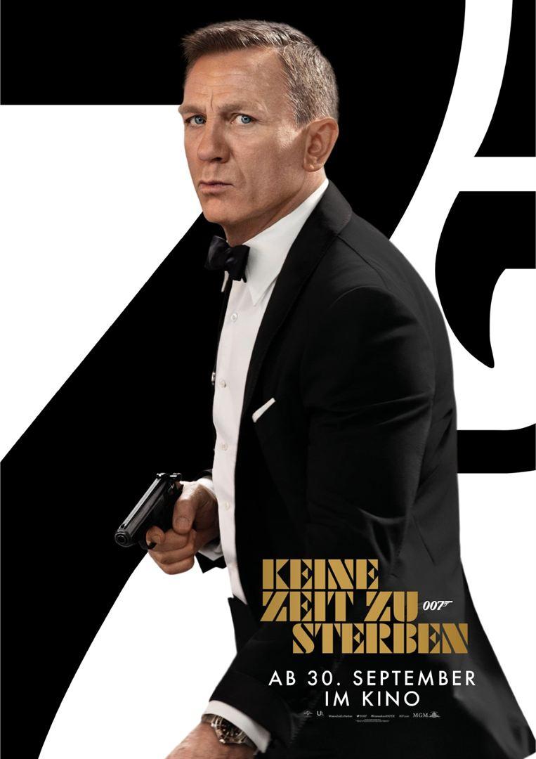 James Bond - Keine Zeit zu sterben! Saal: Studio: 3 G-Regel