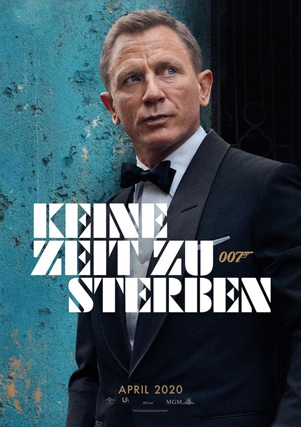 James Bond - Keine Zeit zu sterben Saal: Palast: 2 G-Regeln
